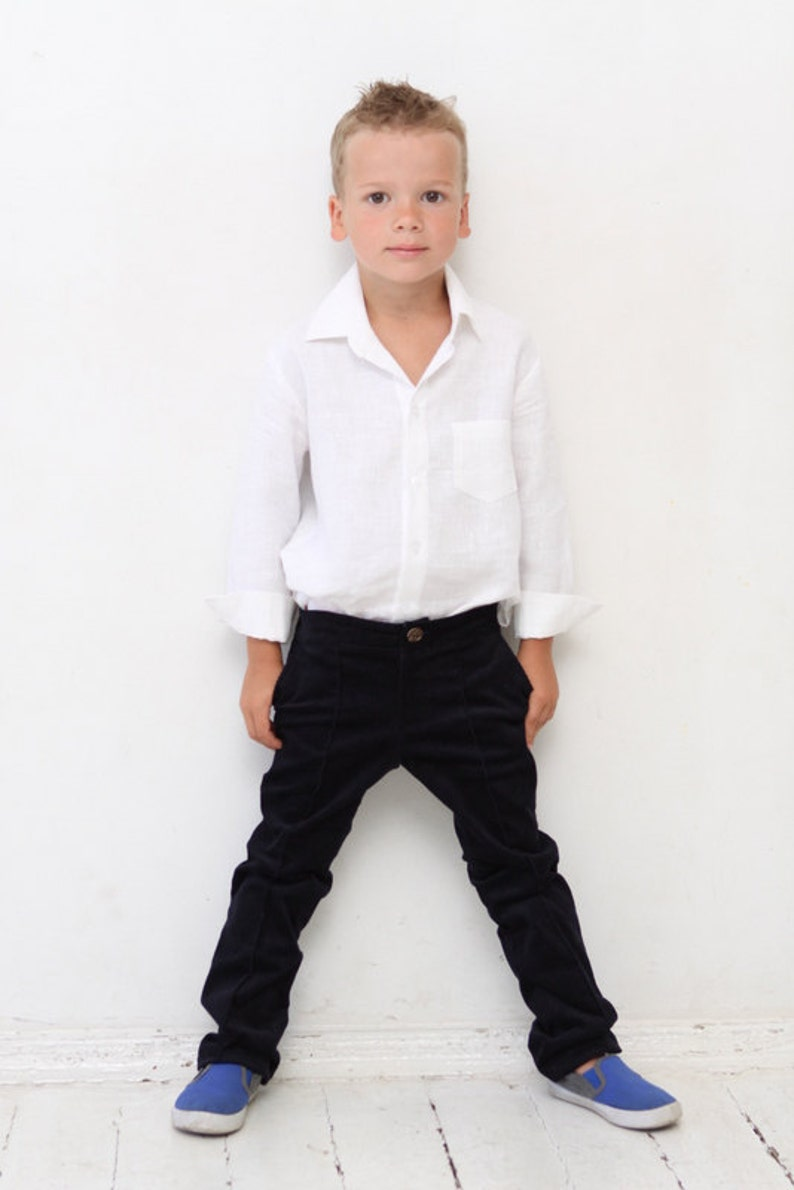 f3c6738b7 Boys pants Boys tailored pants Toddler boy trousers Wedding | Etsy