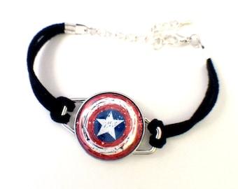 Avengers Bracelet | Magnetic Avengers Bracelet | Loki, Thor, Black Widow, Iron Man, Hawkeye, Captain America, Winter Soldier, The Hulk