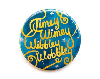 """Doctor Who Button 