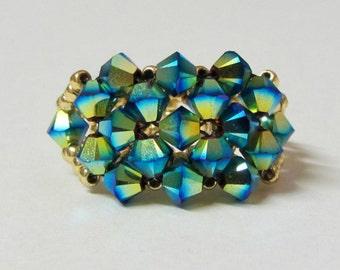 Crystal Cluster Ring Tutorial