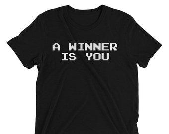 A Winner is you T-shirt NES Nintendo Pro Wrestling