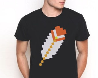 Mario Feather T-Shirt, Super Mario, Super Mario Bros, Luigi, Feather, Mario shirt, Mario T-shirt, Feather T-shirt, black t-shirt, nintendo