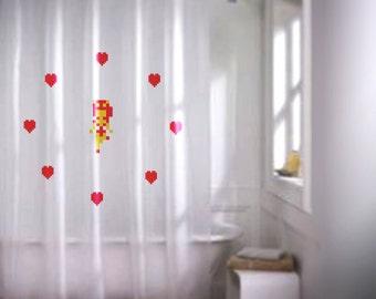 Zelda Fairy Shower Curtain