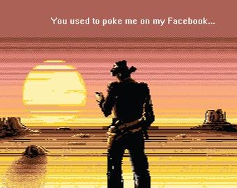 Pixel Print - Poke me