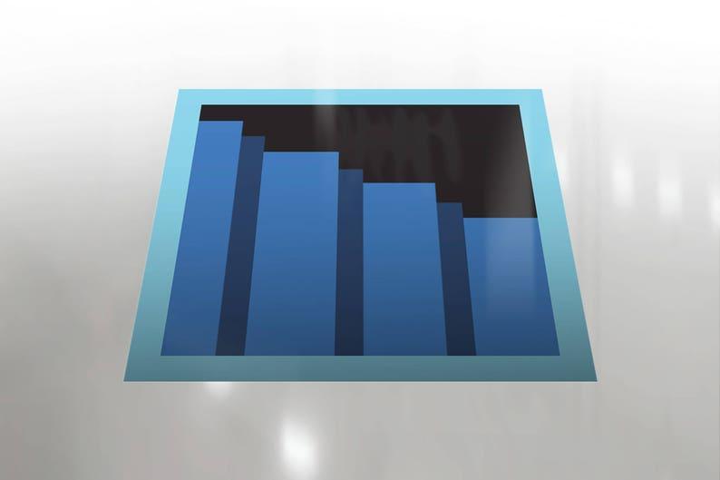 Secret Passage Floor Decal Zelda Staircase Zelda Stairs image 0