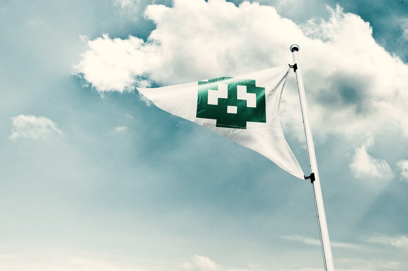 Super Mario Bros Flag Mario Flag Super Mario Flag Outdoor image 0