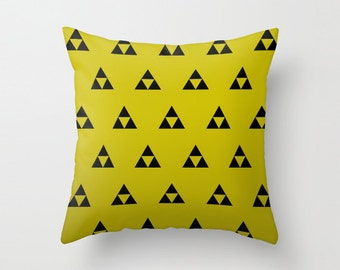 Zelda Triforce Pillow