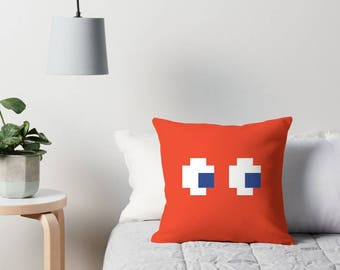 Pac-Man Ghost Pillow