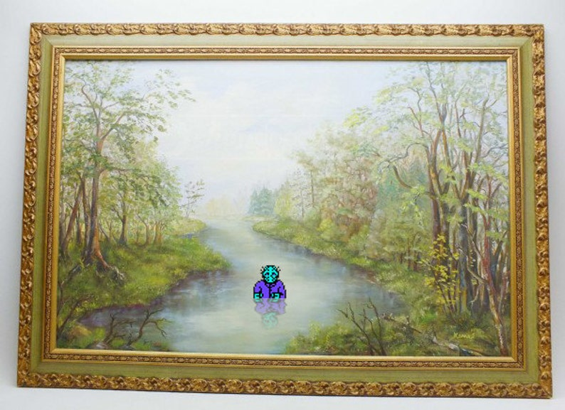 Jason Voorhees Altered Thrift Store Art Repurposed Thrift image 0