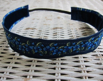 Womens Blueberry Headband - Girls No Slip Headband