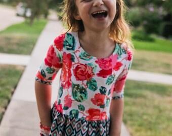 Brooklyn Dress & Maxi PDF Sewing Pattern Sizes 1/2-14