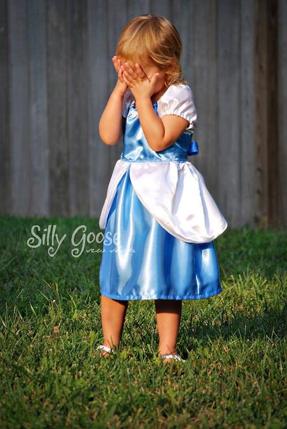Cinderella Ball Gown Dress Everyday Princess Pdf Pattern Etsy