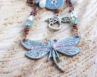 Dragonfly, Dream, Necklace