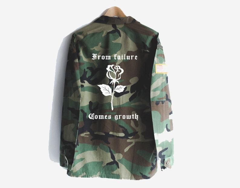 728c9fa453c18 Military jacket camo jacket custom camo jacket graphic   Etsy