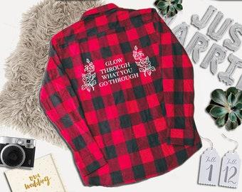 festival Flannel - women's flannel - flannel shirt - flannel - graphic flannel - quote shirt - tumblr shirt - funny shirt - plaid shirt