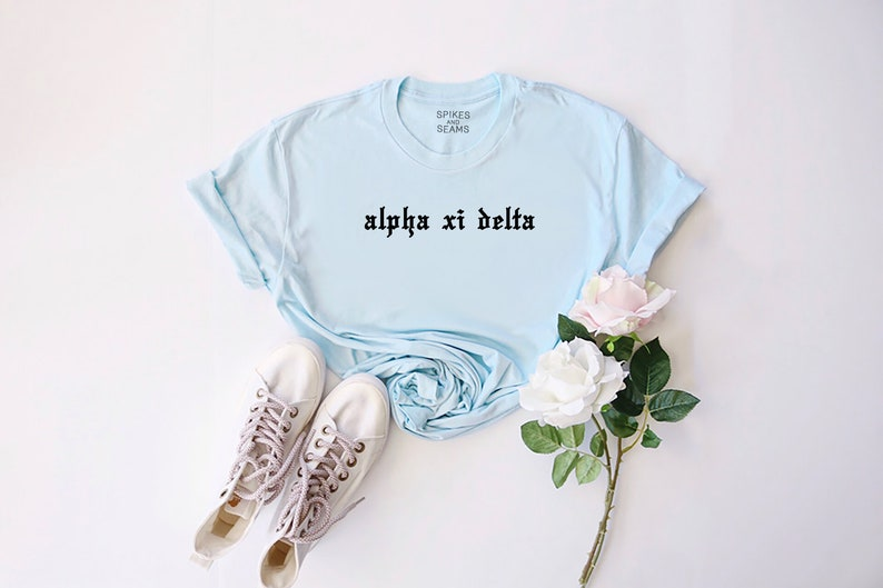 bid day shirt blue sorority shirt reveal bid day kappa delta shirt sorority gifts shirts for rush tee bid day shirts kappa delta
