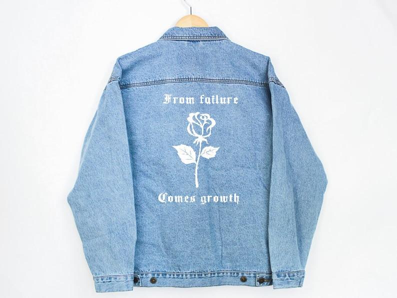 6d398f2859e6 From Failure Denim Jacket jean jacket denim jacket
