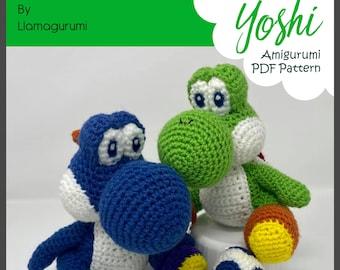 Yoshi Amigurumi Crochet Pattern PDF | Etsy | 270x340
