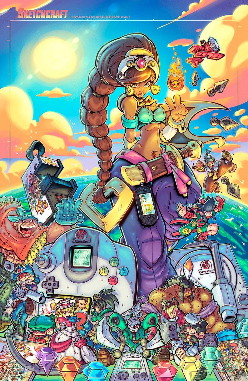 P-Stone Gaming Tribute Print image 0