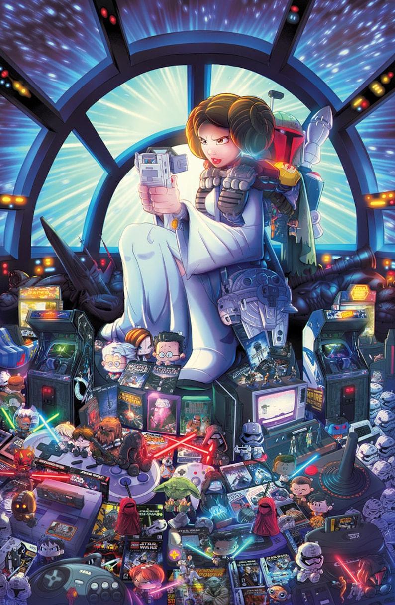SW Gaming Tribute Print image 0