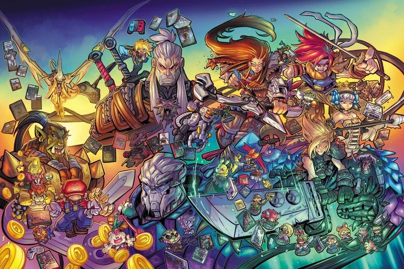 Game Informer JRPG Tribute Poster image 0