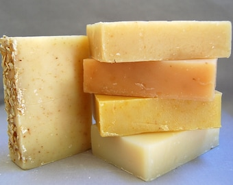Natural hand made soaps-patchouli-unscented-lavender-tea tree-rosemary-eucalyptus-lemongrass-oatmeal-peppermint-spearmint