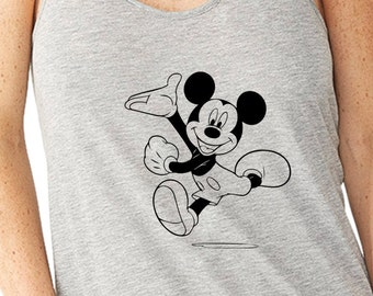 Running Mickey Run Disney Disney Running Tank Disney  Marathon Tank Disney Half Marathon  Running Tank Walt Disney World Marathon