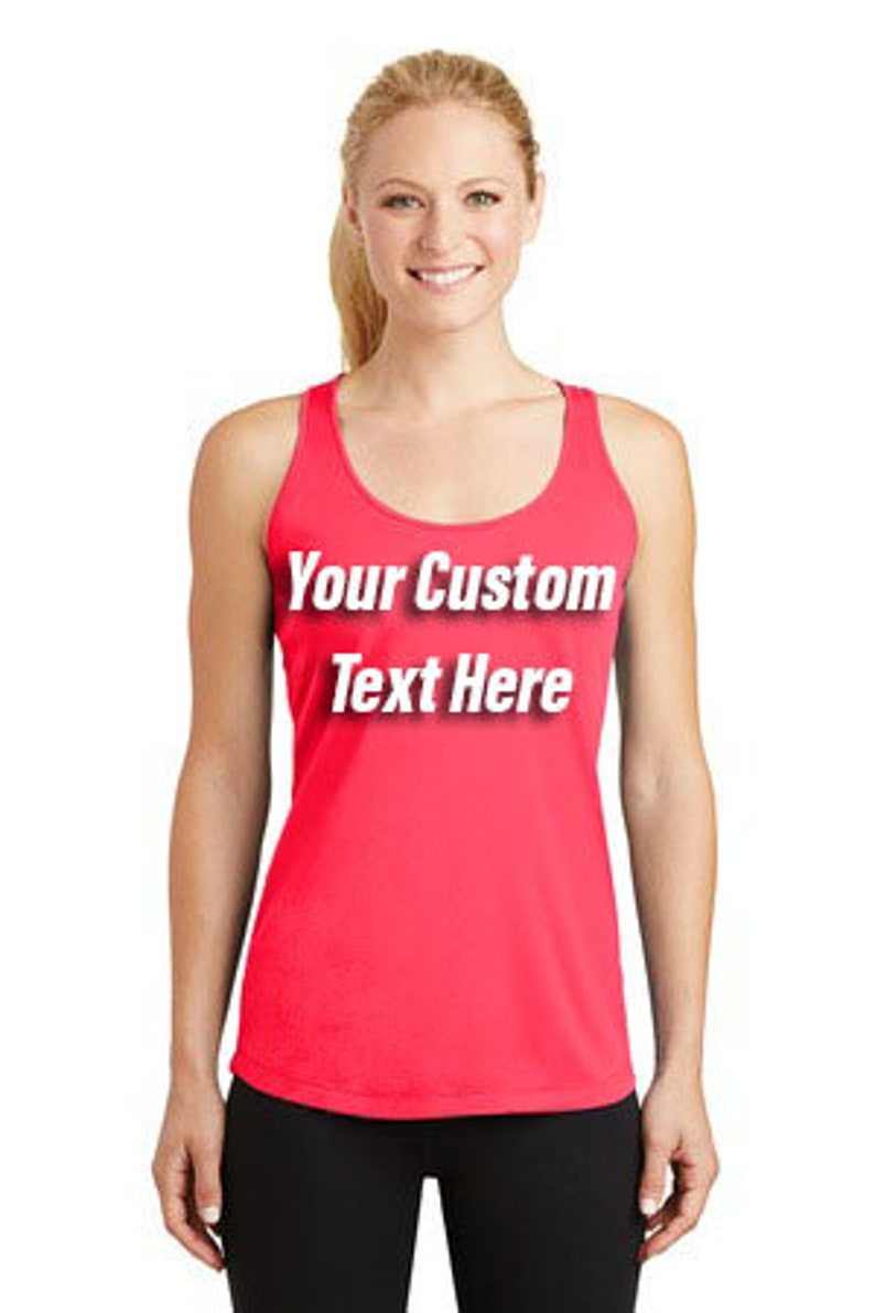 Customize Your Running Tank Customized Running Tank Customized image 0