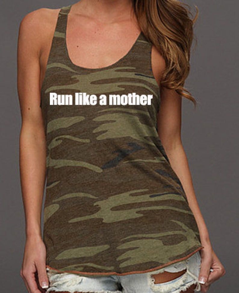Half Marathon and Marathon running shirts for women.      Run image 0