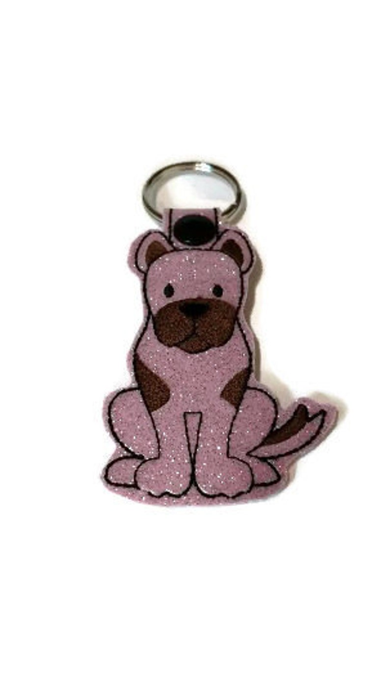 Great dane Key Fob Great Dane Key Chain Great Dane gift dog image 0