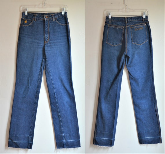 Vintage Gloria Vanderbilt Women's Denim Blue Jeans