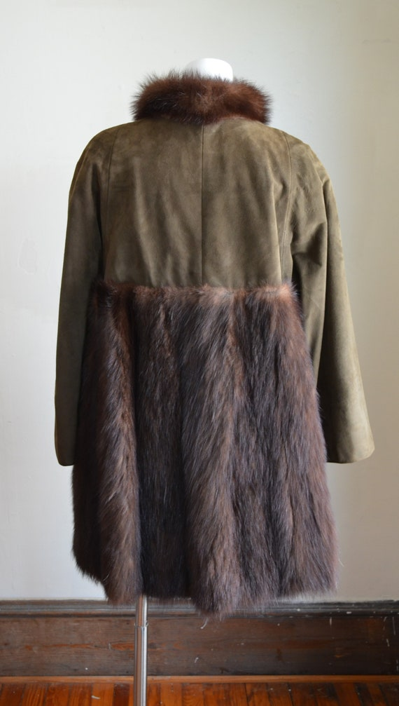 "Stunning Bonnie Cashin Sills Fur & Suede Coat ""Si… - image 2"
