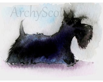 Scottie Dog Fine Art print #128