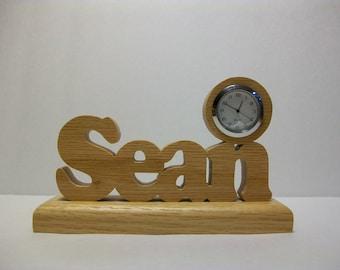 Personalized Desk Clock