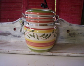 Ceramic storage jars Etsy