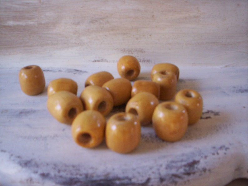 50 wood beads/Natural wood beads/Wood beads/Craft wood beads/Boho rustic wood  beads/Vintage round beads/Vintage wood beads/Jewelry making