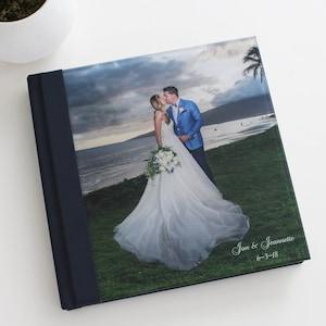 Custom Wedding Photo Album 11x14 Horizontal Acrylic Cover Etsy