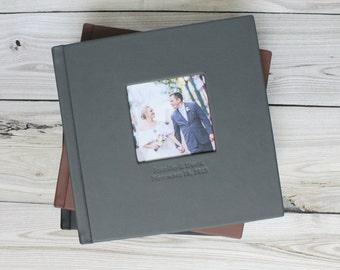 Custom Wedding Photo Album12x12 Acrylic Cover Wedding Album Etsy