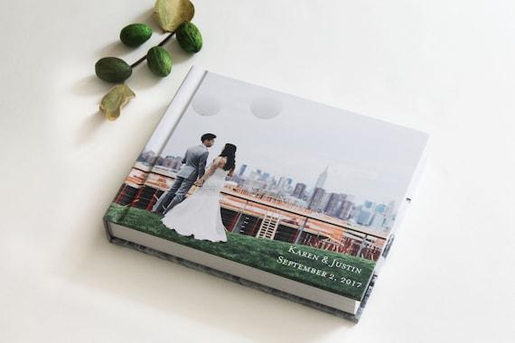 Custom Wedding Photo Albums 8x10 Photo Wrap Album With 30 Etsy