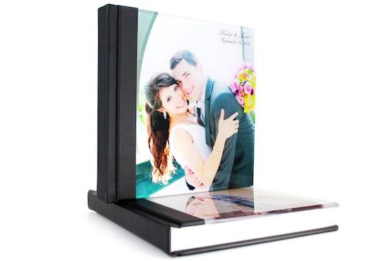 Personalzied Wedding Photo Album 12x12 Acrylic Cover Wedding Etsy