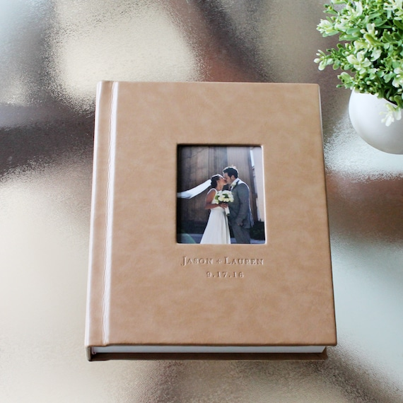 Wedding Albums 8x10 Leather Cover Wedding Album 30 Pages Etsy