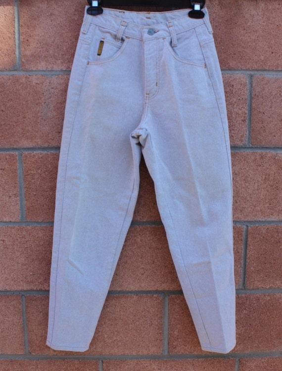ARMANI High waist jeans