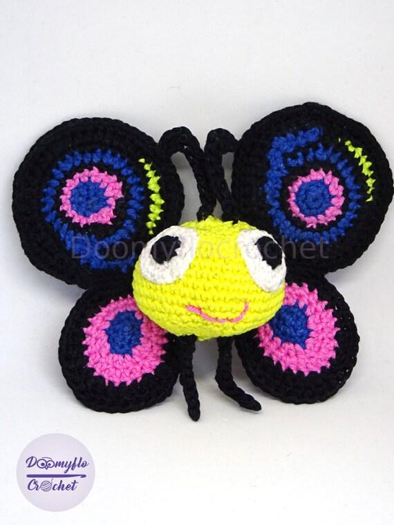 Schmetterling Häkeln Amigurumi In Baumwolle Inspiriert Durch Etsy