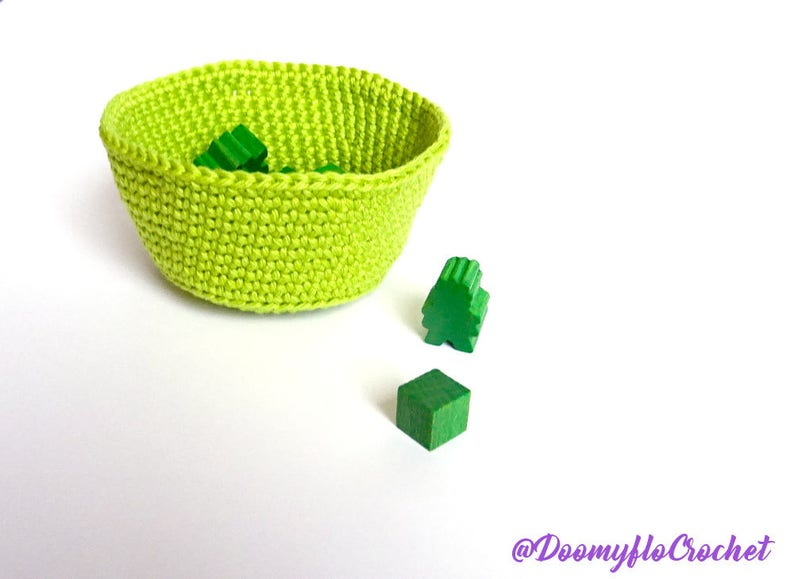 Accessory for Board games Cotton cup for meeples or cubes image 0