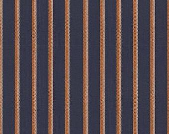 Ruby Star Society Warp & Weft Heirloom Shirtwaist Navy Stripe Alexia Abegg Yarn Dyed Woven Fabric Clothing Fabric Moda Fabrics Blue Stripe