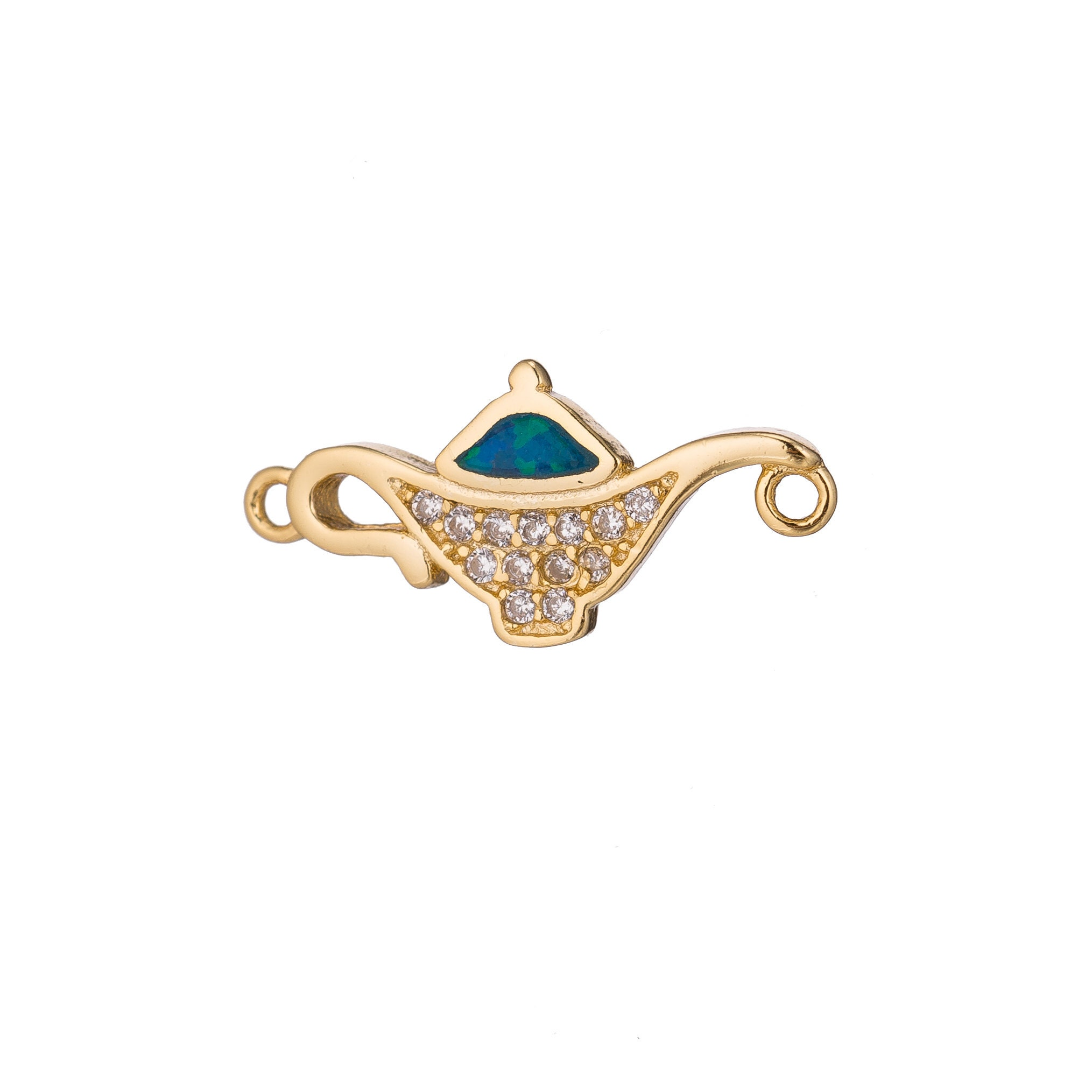 1pc Gold Aladdin s Genie in a Bottle Disney Lover  bef0c33503f0