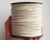 Beige Suede cord - high quality soft faux cord 2 m - 2,18  yards or 6,5 feet