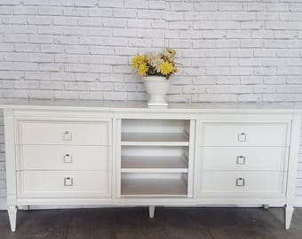 Custom to order MidCentury Neoclassical Dresser or Buffet
