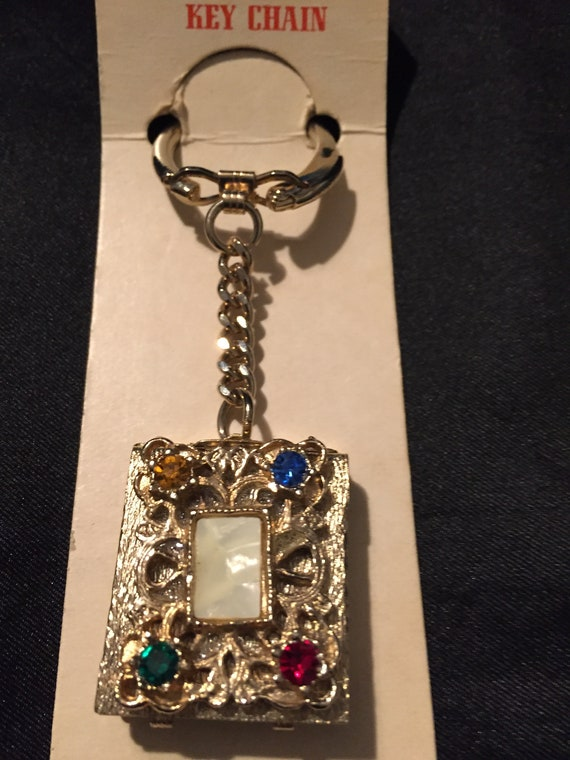 1930's Novelty Picture Frame Key Chain