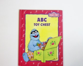 Sesame Street ABC Toy Chest A Readers Digest Kids Book Featuring Jim Hensons Muppets